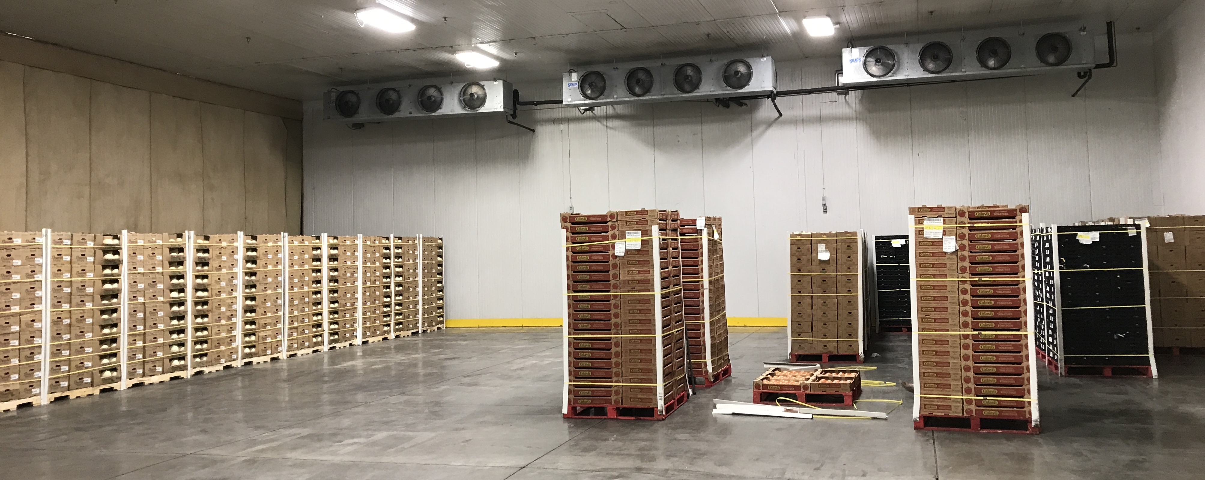 cold storage decrease demand, reduce cold storage energy costs, energy management, increase efficiency cold storage, produce facility increase efficiency